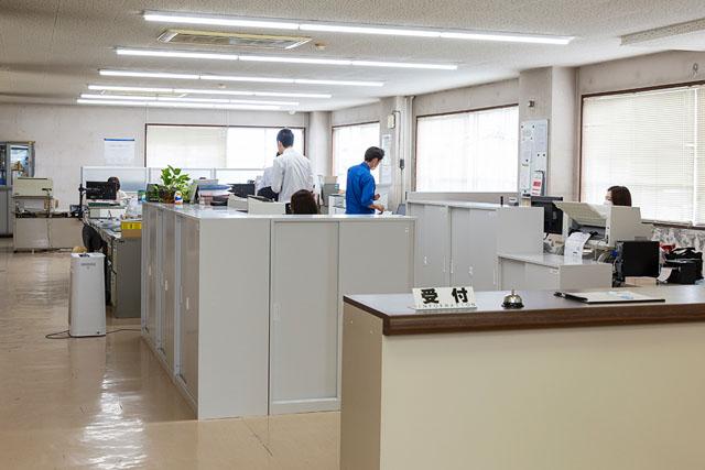 新潟本社 営業部全景